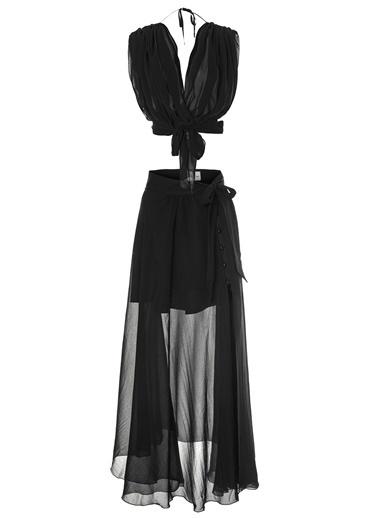 Women&Women Elbise Siyah